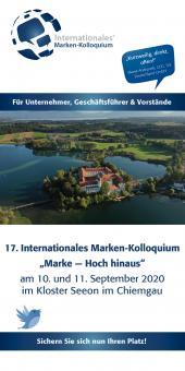 Teilnahme am 17. Internationalen Marken-Kolloquium