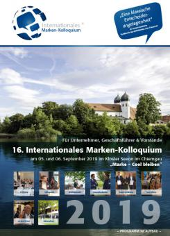 Teilnahme am 16. Internationalen Marken-Kolloquium