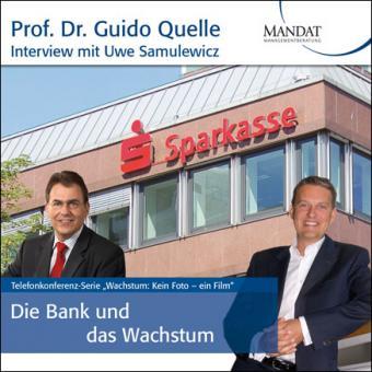 Die Bank und das Wachstum: Gespräch mit Uwe Samulewicz