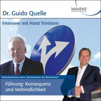 Führung - Konsequenz und Verbindlichkeit: Gespräch mit Horst Trimborn