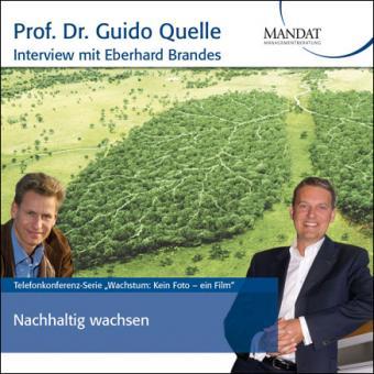 Nachhaltig wachsen: Gespräch mit Eberhard Brandes