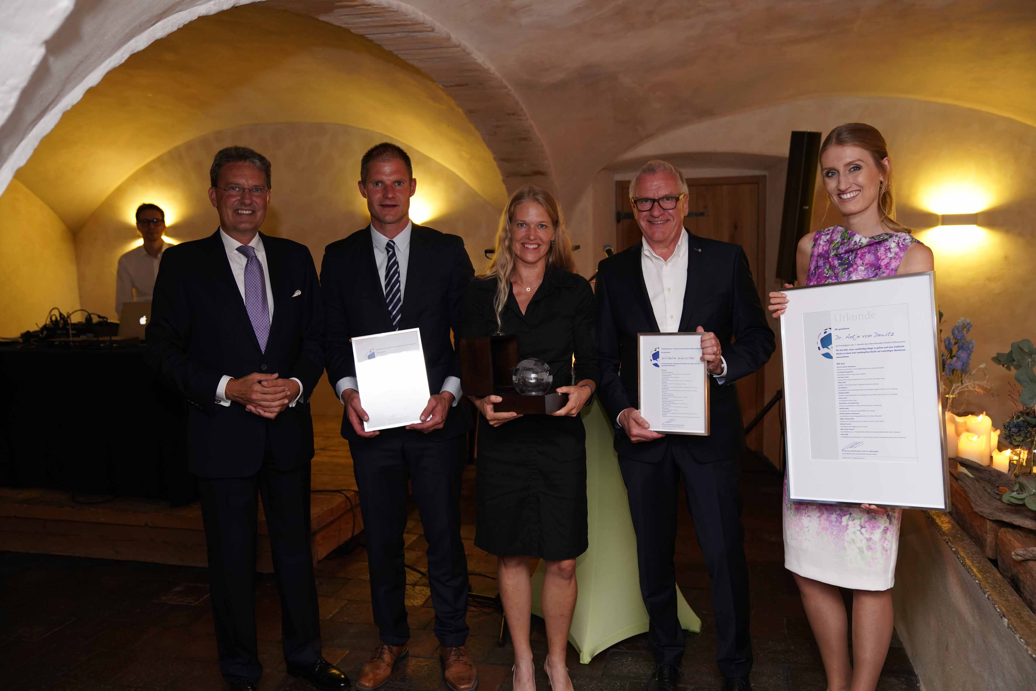 Award-Verleihung des 15. Internationales Marken-Kolloquiums 2018